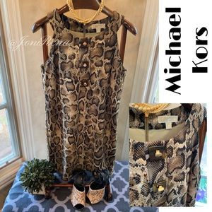 😍🔥MK Python Dress | Michael Kors SIZE XL 🔥